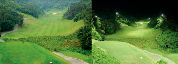 高尔夫新利官方网站下载安装白天夜间对比图